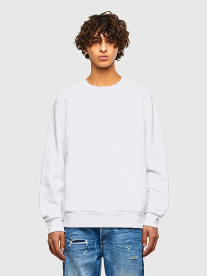Diesel - S-GIRK-A70, White - Sweaters - Image 1