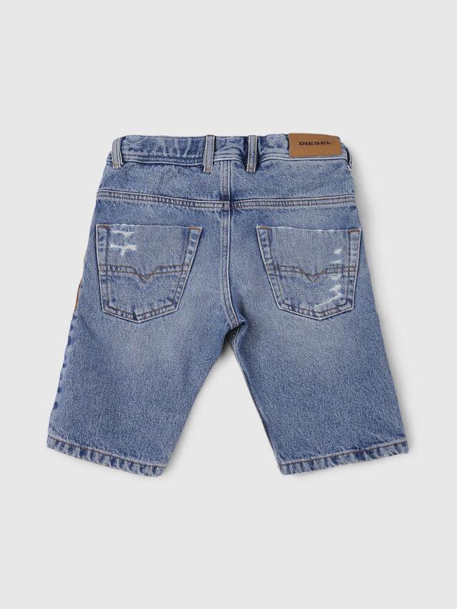 Diesel - KROOLEY-J SH JOGGJEANS, Light Blue - Shorts - Image 2