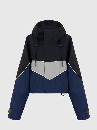Diesel - W-KOON, Blue/Grey - Winter Jackets - Image 3