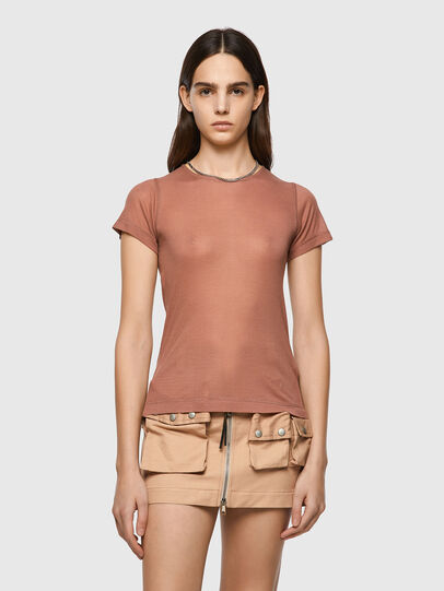Diesel - T-CHAINE, Light Brown - Tops - Image 1