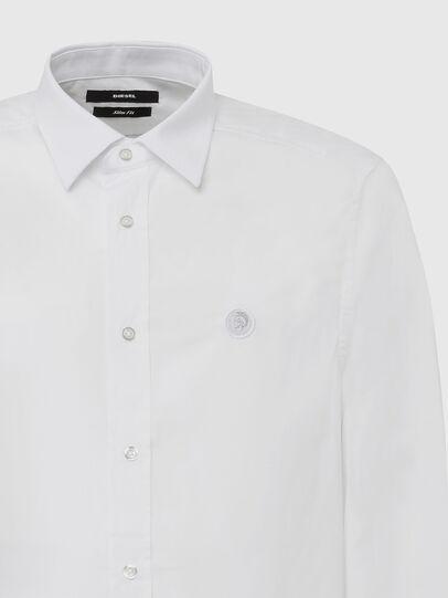 Diesel - S-BILL, White - Shirts - Image 3