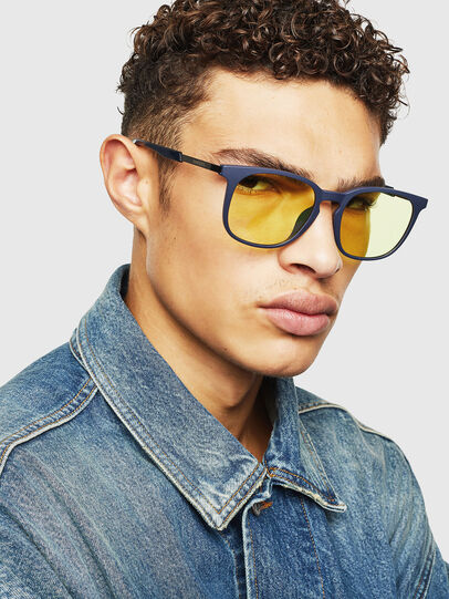 Diesel - DL0311, Dark Blue - Sunglasses - Image 5