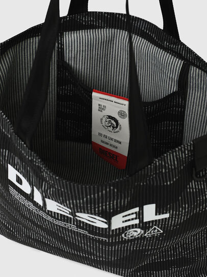 Diesel - D-THISBAG SHOP M, Black - Shopping and Shoulder Bags - Image 7