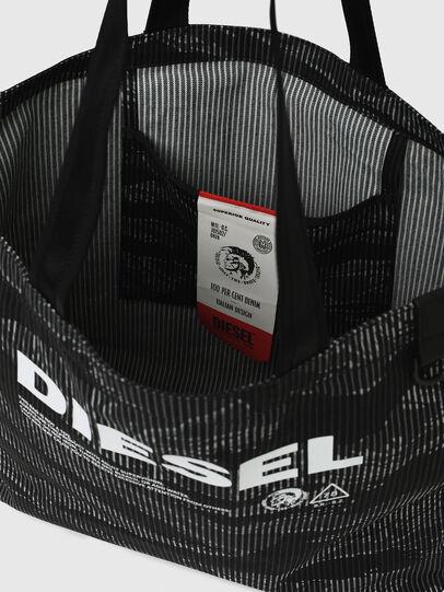 Diesel - D-THISBAG SHOP M, Black - Shopping and Shoulder Bags - Image 7