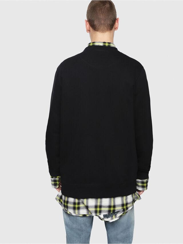 Diesel - S-GIR-Y4, Black - Sweaters - Image 2