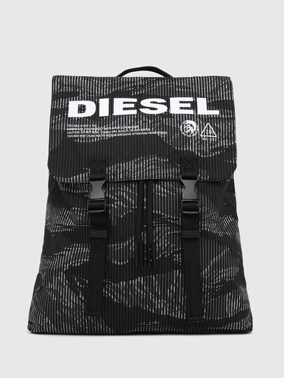 Diesel - VOLPAGO BACK, Black - Backpacks - Image 1