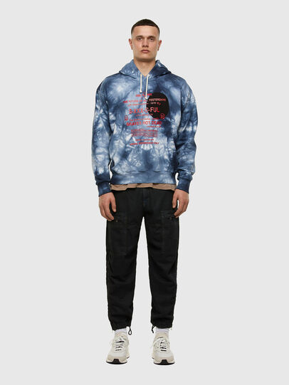 Diesel - S-MOONY, Blue/White - Sweaters - Image 5