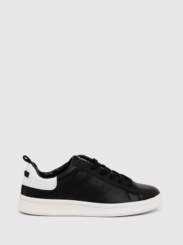 SN LOW LACE 11 FULL, Black/White - Footwear