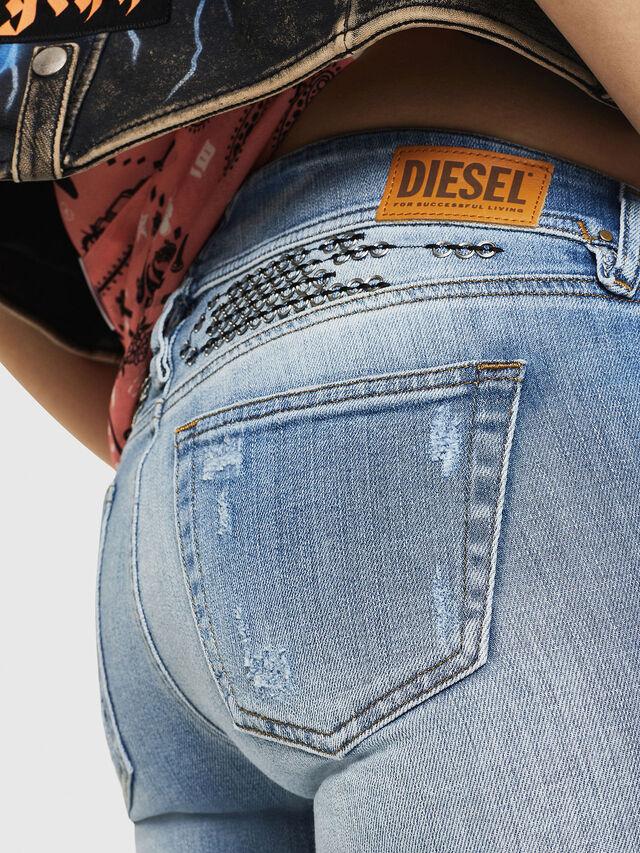 Diesel - D-Ramy 081AJ, Light Blue - Jeans - Image 5