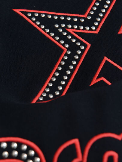 Diesel - SBAYSTUDS OVER, Black - Sweaters - Image 3