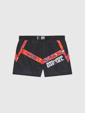 BMBX-CAYBAYDOO, Black/Orange - Swim shorts