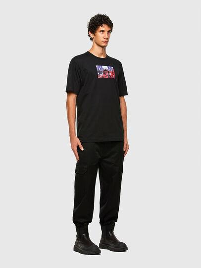 Diesel - T-TUBOLAR-N2, Black - T-Shirts - Image 5