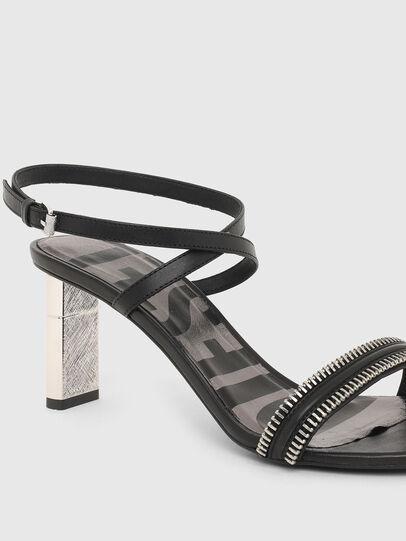 Diesel - SA-LEZIPPO, Black - Sandals - Image 5