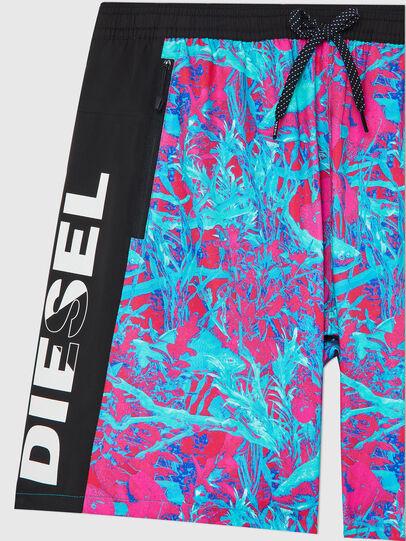 Diesel - BMBX-TUNADOO, Pink/Blue - Swim shorts - Image 3