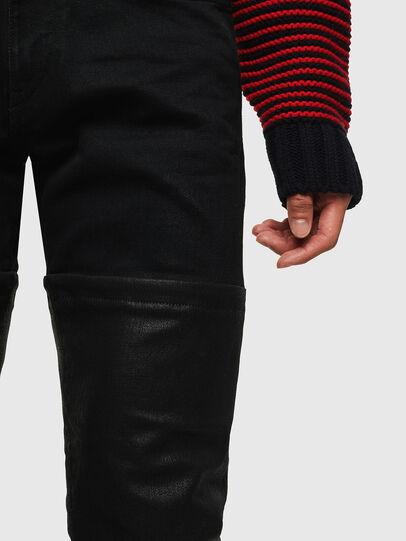 Diesel - D-Strukt 0091W, Black/Dark grey - Jeans - Image 3