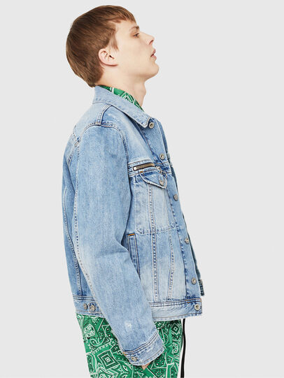 Diesel - D-ROY,  - Denim Jackets - Image 4