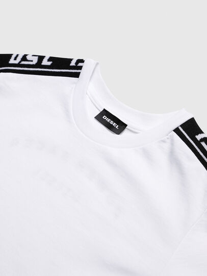 Diesel - TJUSTRACE, White/Black - T-shirts and Tops - Image 3