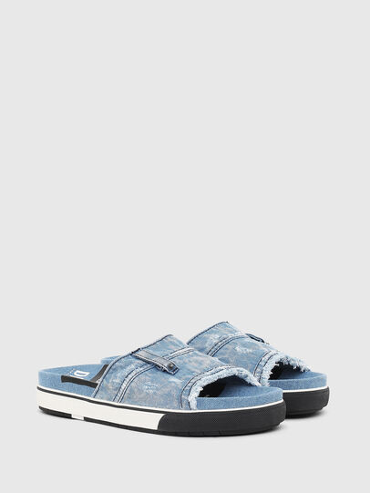 Diesel - SA-GRAND OT, Blue Jeans - Slippers - Image 2