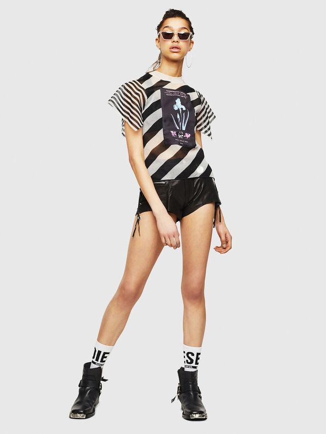 Diesel - M-RIX, White/Black - Knitwear - Image 5