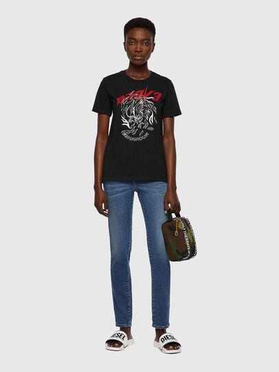 Diesel - T-SILY-B2, Black - T-Shirts - Image 4