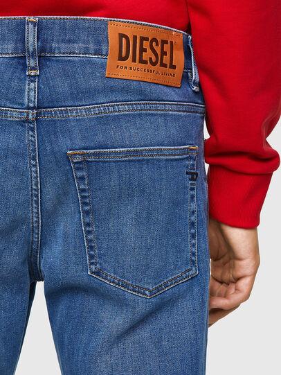 Diesel - D-Fining 09A80, Medium blue - Jeans - Image 4