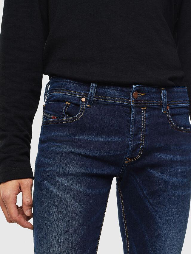 Diesel Sleenker 084RI, Dark Blue - Jeans - Image 3