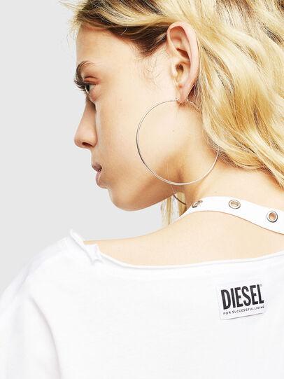 Diesel - T-JALA, White - T-Shirts - Image 5