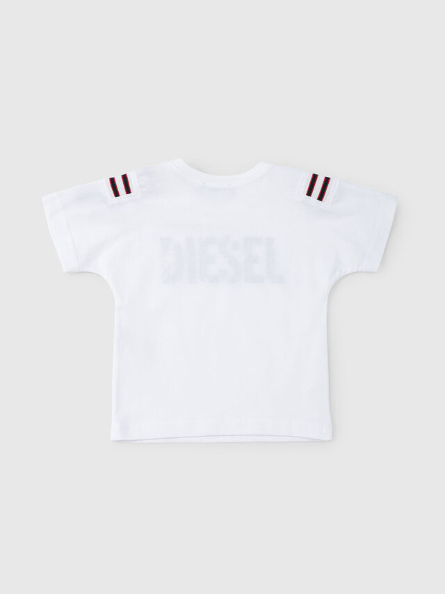 Diesel - TRYLLB, White - T-shirts and Tops - Image 2