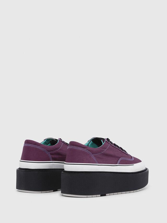 Diesel - H-SCIROCCO LOW, Dark Violet - Sneakers - Image 3