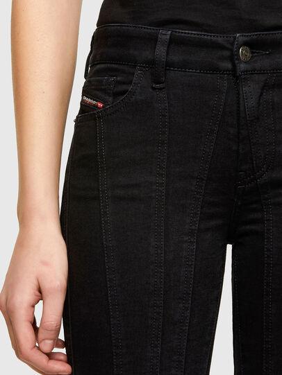 Diesel - Slandy 069VP, Black/Dark grey - Jeans - Image 3