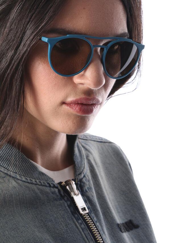 Diesel - DM0195, Blue - Eyewear - Image 6