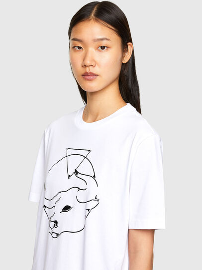 Diesel - CL-T-JUST-O, White - T-Shirts - Image 6