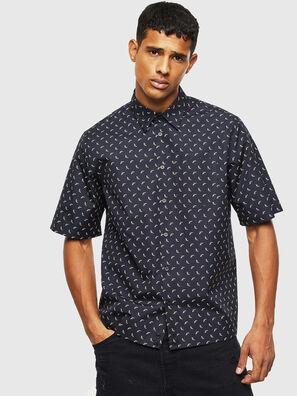 S-ATWOOD-B, Black - Shirts