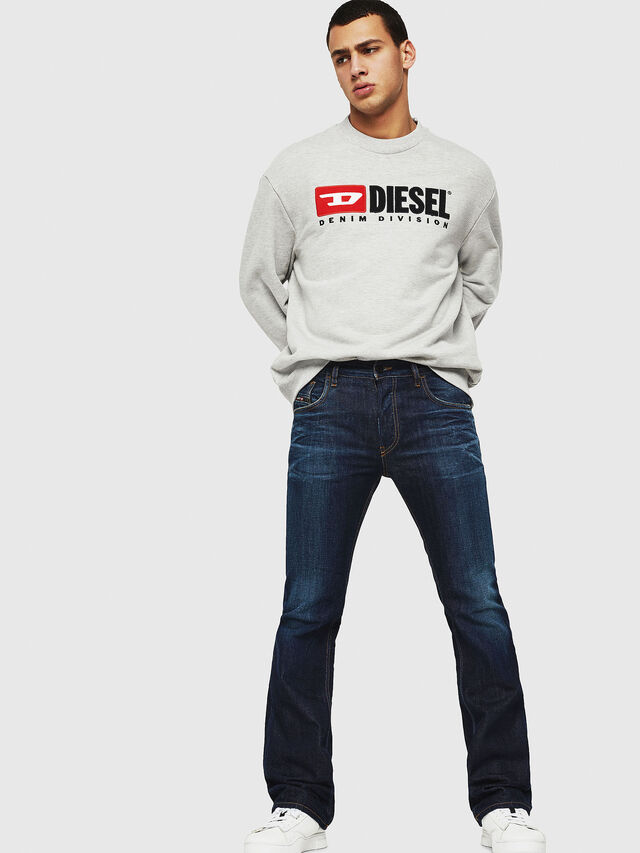 Diesel - D-Ligenz 088AN, Dark Blue - Jeans - Image 4