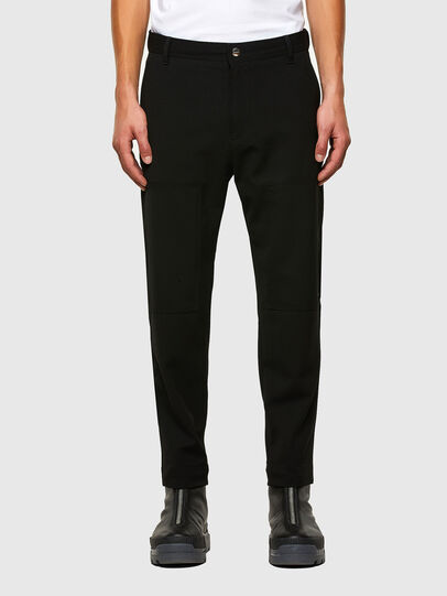 Diesel - P-KOLTY, Black - Pants - Image 1