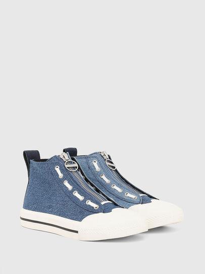 Diesel - S-ASTICO MZIP W, Blue - Sneakers - Image 2