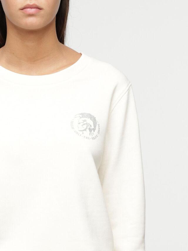 Diesel - UFLT-WILLA, White - Sweaters - Image 3