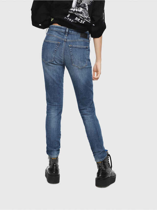 Diesel - Babhila 082AB, Dark Blue - Jeans - Image 2