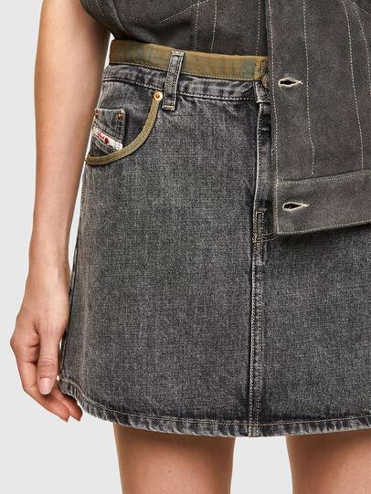 Diesel - DxD-SKIRT, Black - Skirts - Image 4