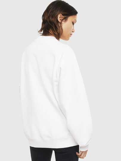 Diesel - F-ANG-S3, White - Sweaters - Image 2