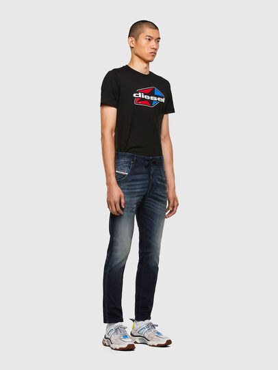 Diesel - Krooley JoggJeans 069QD, Dark Blue - Jeans - Image 5