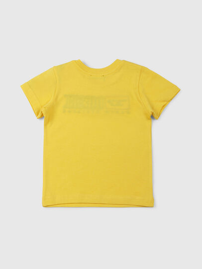 Diesel - TJUSTDIVISIONB, Yellow - T-shirts and Tops - Image 2