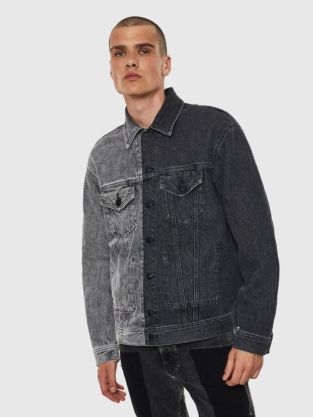 D-POLL, Black - Denim Jackets