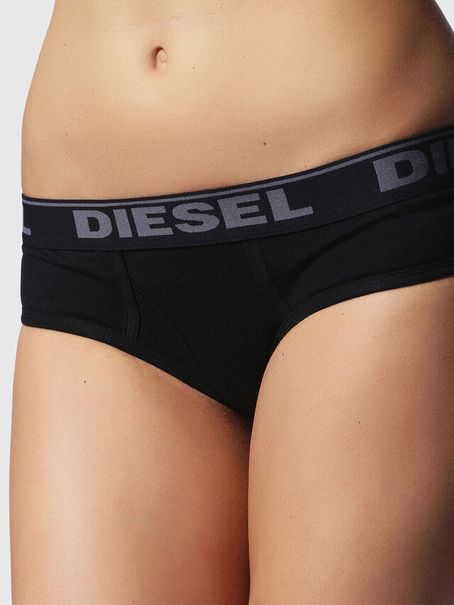 Diesel - UFPN-OXY-THREEPACK, Black/Grey - Panties - Image 4