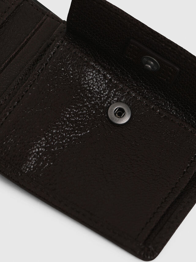 Diesel - HIRESH XS, Brown - Small Wallets - Image 4