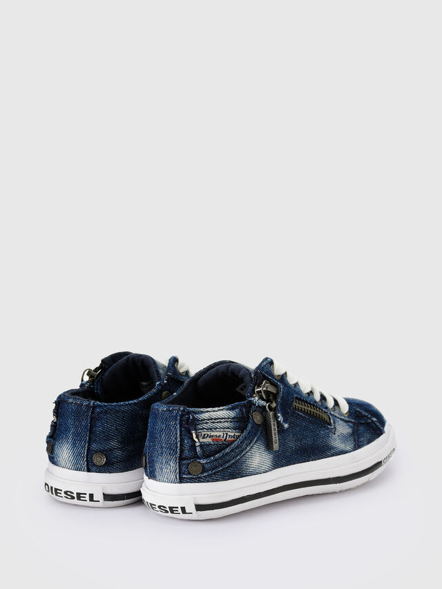 KIDS SN LOW 25 DENIM EXPO, Blue Jeans - Footwear - Image 3