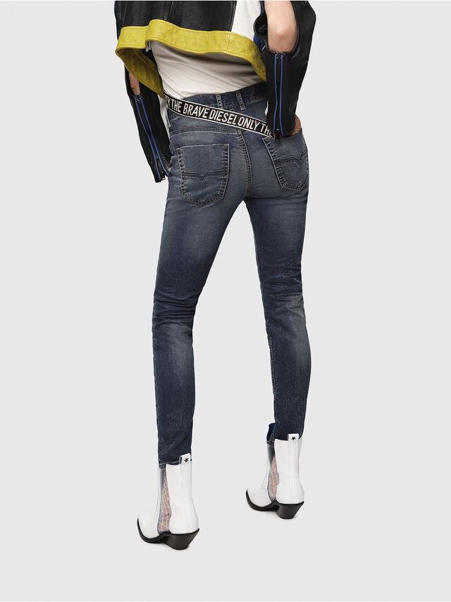 Diesel - Krailey JoggJeans 069FG, Dark Blue - Jeans - Image 2