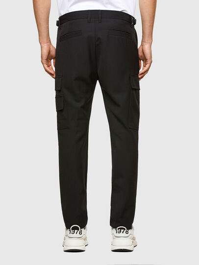 Diesel - P-HOMEN, Black - Pants - Image 2