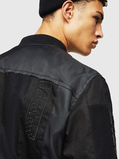 Diesel - W-GARBO, Black - Winter Jackets - Image 5