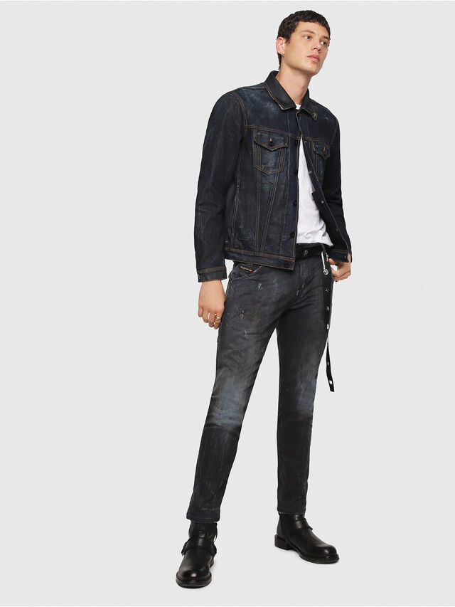 Diesel - CL-NHILL, Dark Blue - Denim Jackets - Image 5